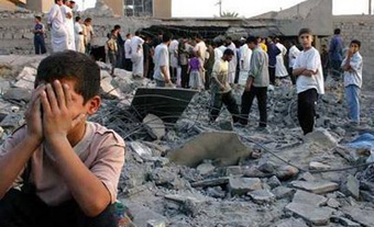 Crónica a un niño iraquí